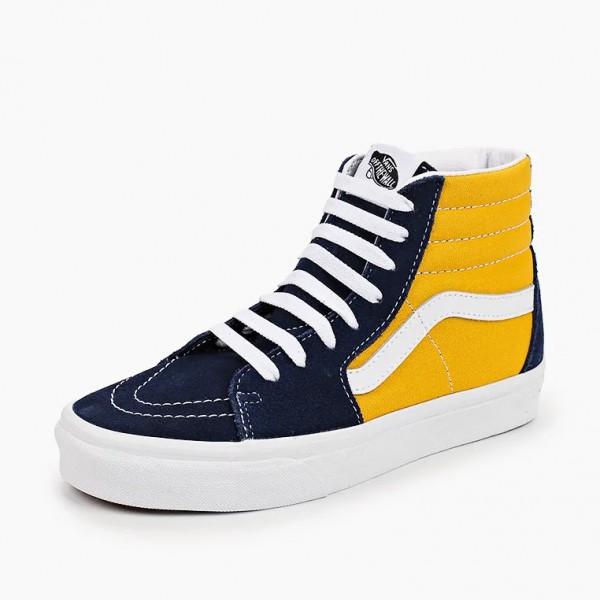 Vans SK8-HI Yellow/Blue VA32QG4PL