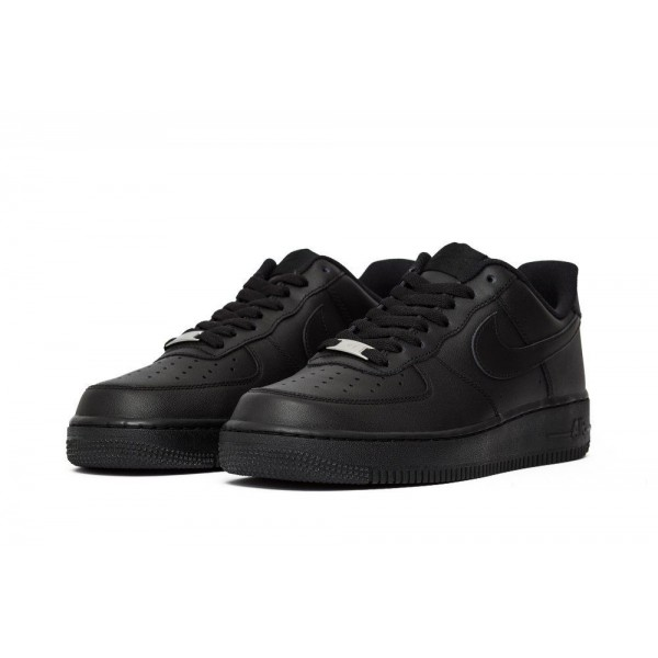 Nike Air Force 1 07 Black/Black  315122-001