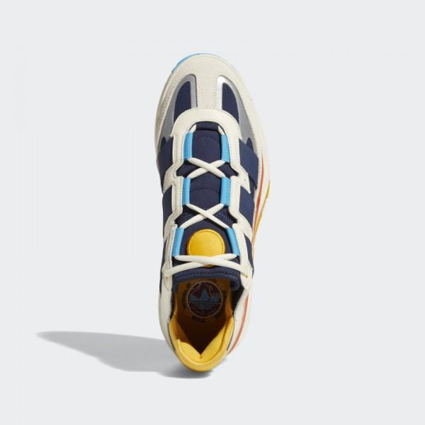 Adidas Niteball Cream White / Signal Cyan / Collegiate Navy FV4842