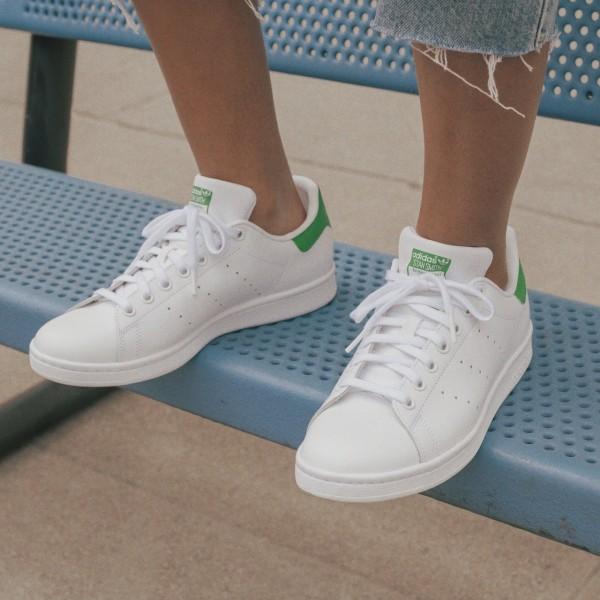 Adidas STAN SMITH CLOUD WHITE / CORE WHITE / GREEN M20324